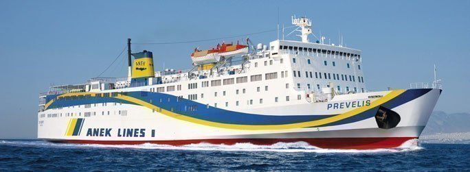 The ferry ship Prevelis belongs to the conventional vessel type