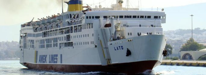 The ferry ship Lato belongs to the conventional vessel type