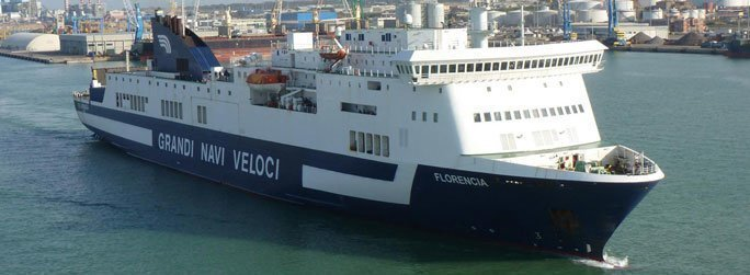 The ferry ship Florencia belongs to the conventional vessel type