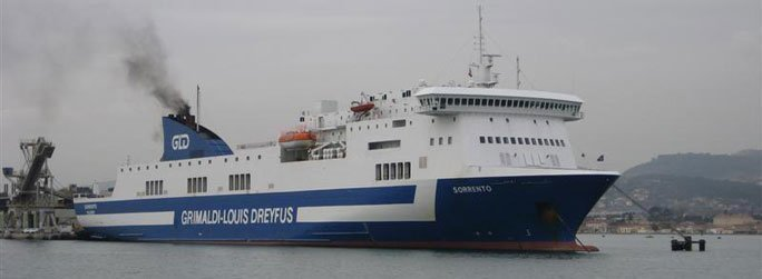 The ferry ship Sorrento belongs to the conventional vessel type