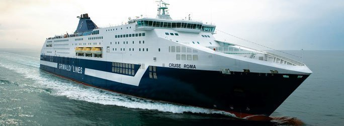 The ferry ship Cruise Roma belongs to the conventional vessel type